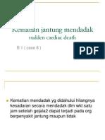 Kematian Jantung Mendadak (B1)