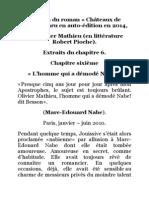 Extraits du roman «Châteaux de sable», par l'homme qui a démodé Marc-Edouard Nabe