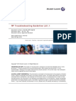 RF TroubleShooting Guideline LA1.1