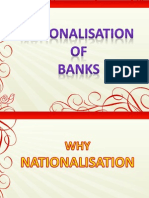 Nationalisation of Bank