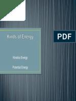 Kinds of Energy