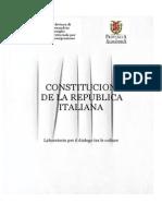 Costituzion de Italia