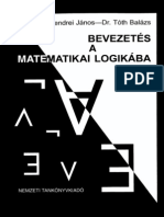 Szendrei János, Tóth Balázs - Bevezetés a matematikai logikába