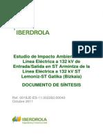 C13 Impacto Ambiental Linea 132