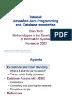 TA Advanced Java JDBC-Eran Toch