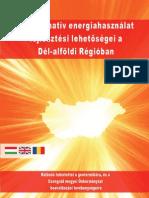 Az alternatív energiahasználat fejlesztési lehetőségei a Dél-alföldi Régióban