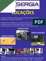 LOCAÇÃO DE EQUIPAMENTOS
