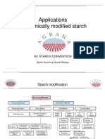 Applications of Modified Starch