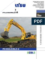 PC350LC-8 SALES BROCHURE (ESPAÑOL)