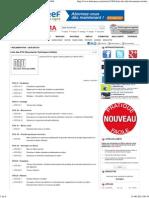 Liste des DTU (Documents Techniques Unifiés)-1964
