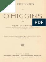 Amunategui%2C+Manuel+Luis+ +La+Dictadura+de+O%27Higgins
