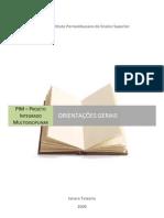 Orientações Gerais para o PIM