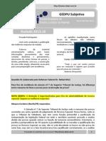 Resultado GEDPU Subjetiva - Rodada 2013.16 (Ata)