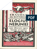 Erasm Din Rotterdam-Elogiul Nebuniei-Antet (1995)