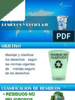 Manejo y Clasificacion de Residuos