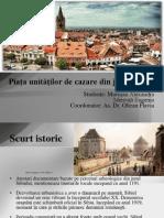 Piaţa unităţilor de cazare din judeţul Sibiu new.