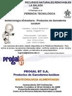 Invitacion a Transferencia Tecnologica Progral