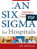 Lean Six Sigma for Hospitals Toc