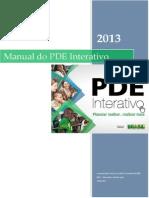 Manual PDE Interativo 2013