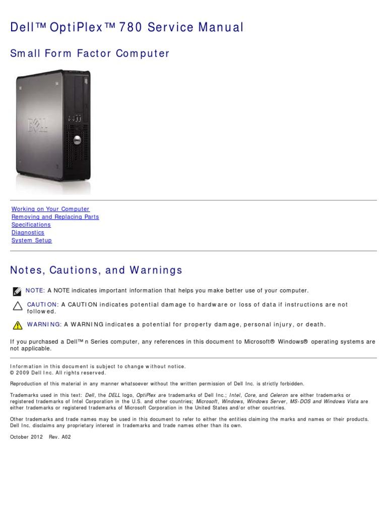 optiplex 780 service manual3 en us booting ip address rh scribd com dell optiplex 780 user guide Dell Optiplex 745 Desktop