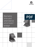 Timing and Attendance (Aptiq and Schlage) Price Book 2014