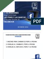 Mas de 30 Razones Para Gestionar Las Pymes y Las Marcas Con Una Pagina de Facebook - Hangout - Trirom - Branding Para Pymes