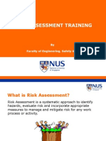 Risk Assessment Training