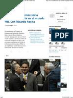 12-12-13 Con reforma Pemex sería empresa insignia en el mundo