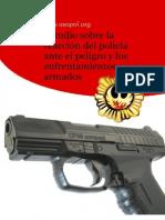 Estudio Sobre La Reaccion Del Policia Ante El Peligro y Los Enfrentamientos Armados