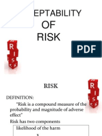 Acceptability of Risk