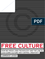 Lessig Lawrence Free Culture Nature and Future Creativity