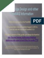 FreeNAS Guide 9.1.0