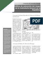 Politica Valoracion Riesgo Cgr