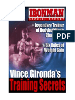 Vince Gironda - Training Secrets