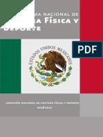 PROGRAMA DE CULTURA FISICA Y DEPORTE