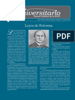 Leyes de Reforma Mexico