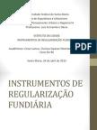 Instrumentos de Regularização Fundiária