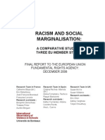 Racism and Social Marginalisation - Final Dec 2008[1]
