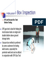 Vacuum Box Inspection