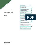 PC Adapter USB - Manual