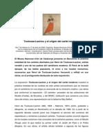Toulouse Lautrec y el origen del cártel