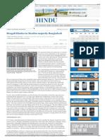 Bengali Hindus in Muslim-Majority Bangladesh - The Hindu