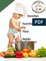 Receitas Nutritivas Para Bebes Papinha Em Casa