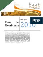 Clase de Membresía Mayo de 2011