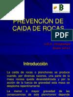 21. Prevención de caida de rocas