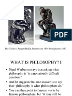 1 - What is Philosophy