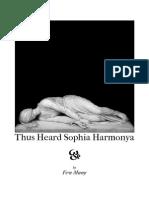 Thus Heard Sophia Harmonia