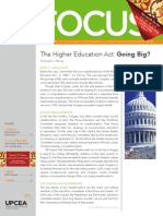 UPCEA In Focus