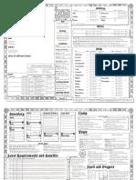Torchbearer Character Sheet