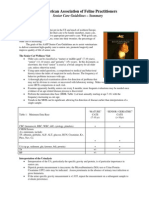 Feline Senior Care Guidelines Summary 2008 a Afp